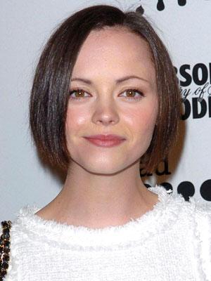 Christina Ricci hair bob